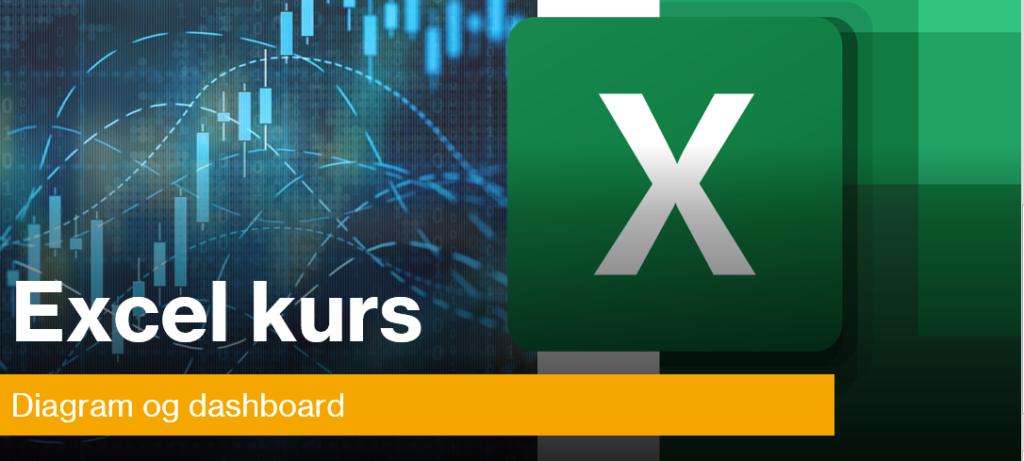 Excel kurs i diagram og Excel