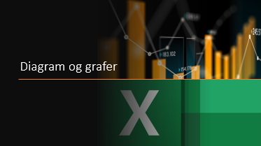 Excel kurs diagram og grafer