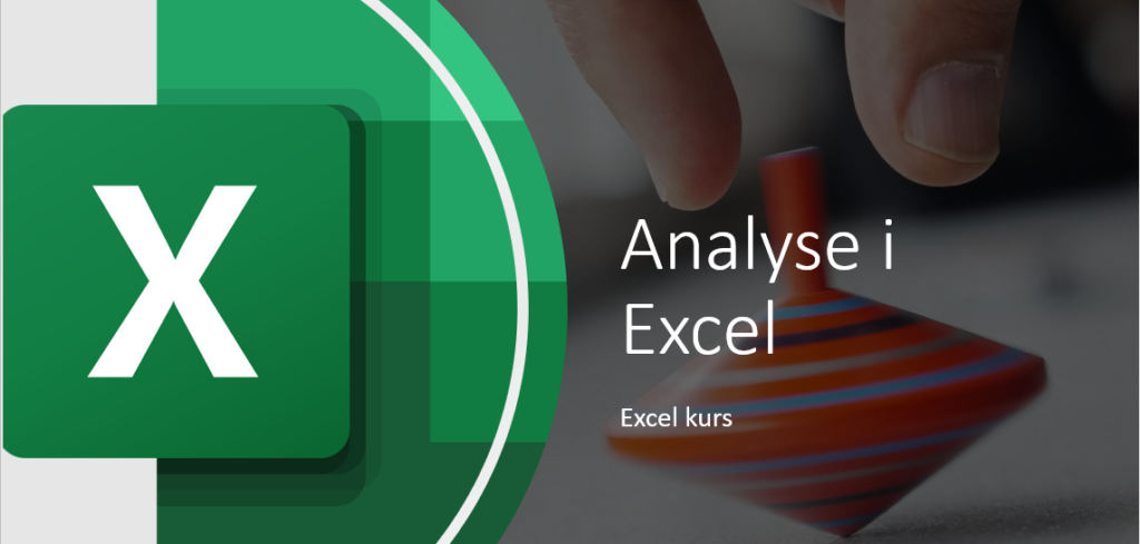 Analyse i Excel