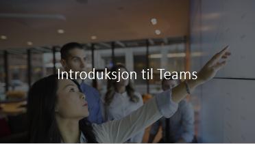 Introduksjonskurs Teams