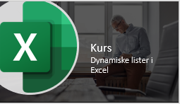 Dynamiske lister kurs