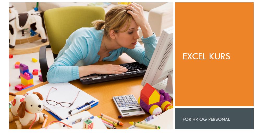 Excel kurs for HR og personal