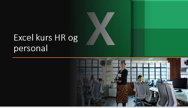Excel kurs HR og personal