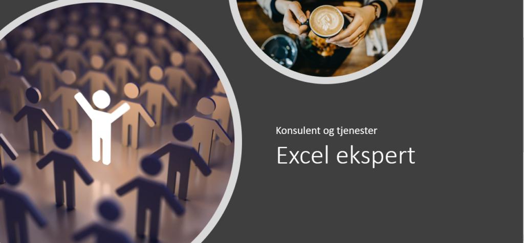 Excel ekspert konsulent og hjelp